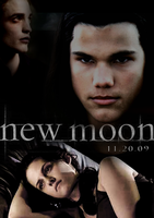 New Moon poster Home made by xSavannahxx