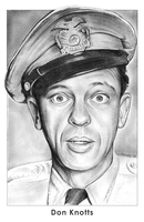 Don Knotts by gregchapin