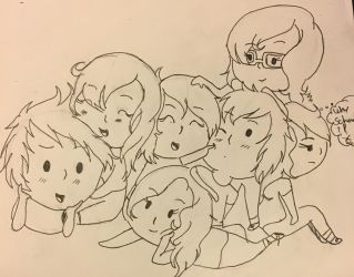 Me and Friends by candymelody14