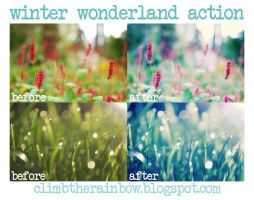 winter wonderland action by Laura1995