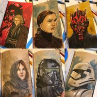 The Star Wars Sketch Book 06 by Hodges-Art