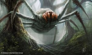 Giant Spider by MarkTarrisse