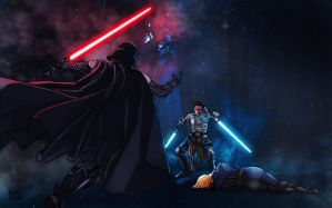 The Force Unleashed by commanderlewis