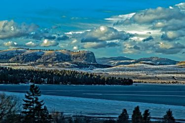 Chief Cliff Across Elmo Bay by quintmckown