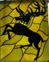 House Baratheon Stained Glass by Triforce759