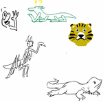 Drawpile fun with Hexadoodle by StevenRoy