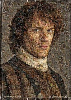 Jamie Fraser mosaic by Kath-13