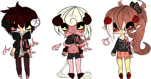 Zodiac Adoptables -Aries -CLOSED- by MochaTart