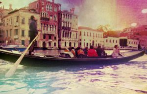 colourful venice by beanutputter