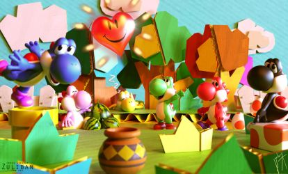 A yoshi's story by zuliban