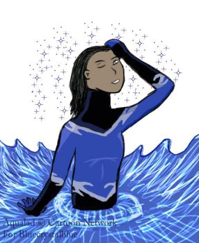 Aqualad for BlueCrystalBlue by Ravestart