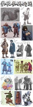 MaDJesters1 RANDOM SKETCH DUMP AND PREVIEWS8 by MadJesters1