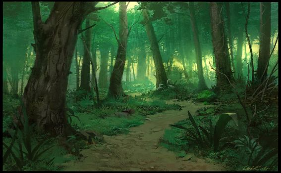 Green Forest by UnidColor