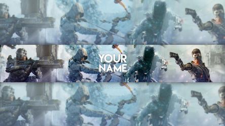 Black Ops 3 Banner Template by DazGames