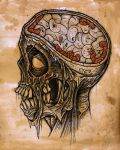 brain worms by ayillustrations