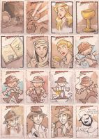 TOPPS indiana jones pt.4 by katiecandraw