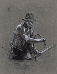 Indiana Jones and The Temple Of Doom by JeffLafferty