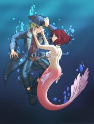 COM -KH3 the pirate and the mermaid by TiaBlackRaven