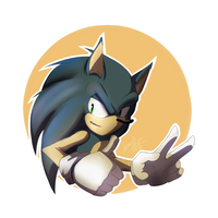 Sonic by Madelajna