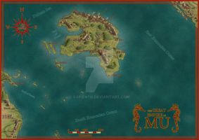The Great Empire of Mu by Sapiento