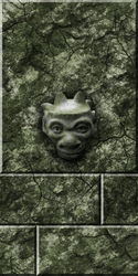 Green Sotne with Gargoyle remake by Hoover1979