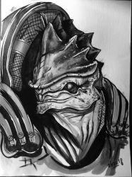 Urdnot Wrex by Less-L