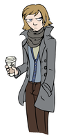 Hipster Hannu by pinearts