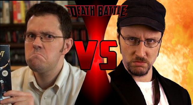 Death Battle: AVGN VS Nostalgia Critic by StewieGriffin2