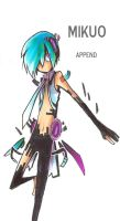 Mikuo Append by acasketcase