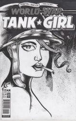 Tank Girl Blank cover by jaimie13