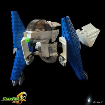 Lego Star Fox Zero Arwing III by archus7