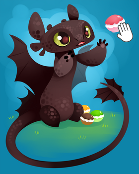 How to REALLY train your dragon by sambragg