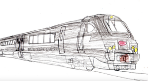 New York Central HSR 221 by mrbill6ishere