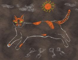 Tigger the CaveCat God by Sunspot01