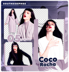 Png Pack 3685 - Coco Rocha by southsidepngs