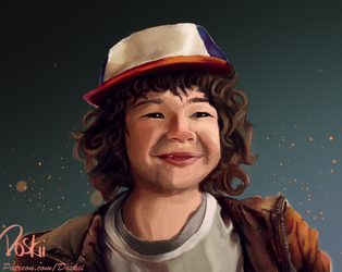 Dustin - Stranger Things by DoskiiLee