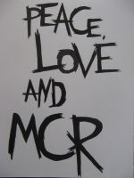 Peace, Love and MCR by Enzelyn