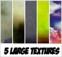 5 large textures by Gumena-Patka