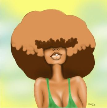 Puffy Afro by hstmhoze