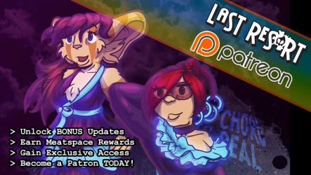 Become a Patron to Last Res0rt's Patreon! by lastres0rt