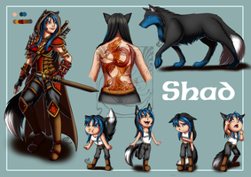 CM - Character Sheet Shad by LadyRosse