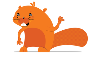 Beaver Mascot Design by Lucora