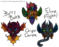 [Closed] Borb Beasts: Batch 3 HALLOWEEN EDITION! by SilverSugar