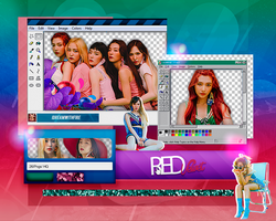 Pack Png 229 | Red Velvet | #8 by IDreamWithFire