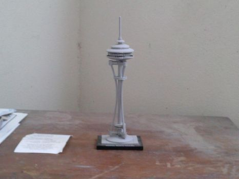 LEGO Space Needle by AmalgamImage0