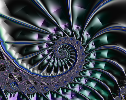 Magical Centipede Spiral by FlyingMatthew