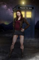Amy Pond by freaxel