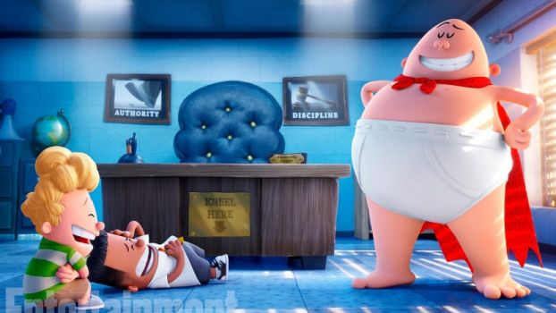 1001 Animations: Captain Underpants by Regulas314