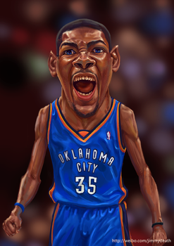 Kevin Durant by jiangming