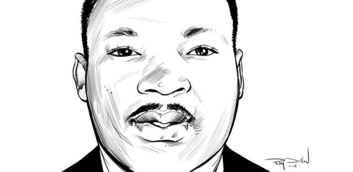 MARTIN LUTHER KING, JR by RayDillon